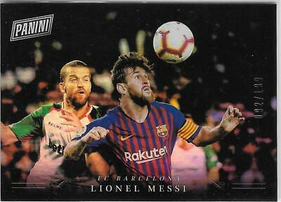 2018 Panini Black Friday LIONEL MESSI COLLECTION LM FC BARCELONA 199