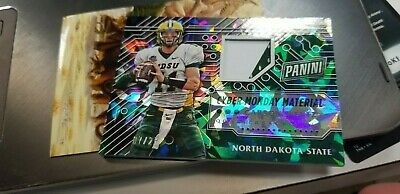 2016 panini cyber monday cracked ice carson wentz patch card 725