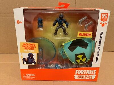 Fortnite Battle Royale Collection Meltdown - The Visitor Figure and Glider MIP