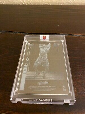201920 LEBRON JAMES PANINI ABSOLUTE GLASS CARD SSP RARE LAKERS