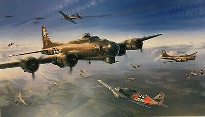 FIRST STRIKE ON BERLIN by Nicolas Trudgian with 100th Bomb Group Veterans