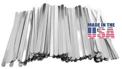 Nose Strip For Face Mask Bracket  MADE IN THE USA 100 pcs- Aluminum Band USA
