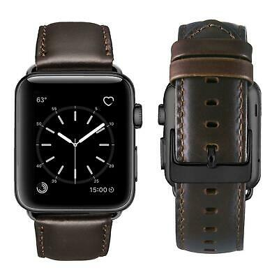 Vintage Genuine Leather Band 42 - 38 mm for Apple Watch
