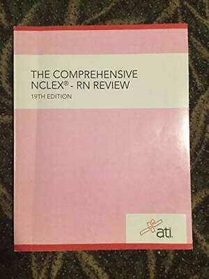 THE COMPREHENSIVE NCLEX-RN REVIEW 19TH EDITION - Textbook Binding - GOOD