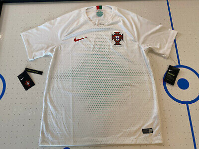 NIKE 2018 WORLD CUP PORTUGAL AWAY SOCCER JERSEY 893876-100 MENS SIZE LARGE