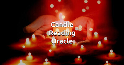 Candle Burning Wax Reading by Psychic Reader Intuitive 40 yrs exp-