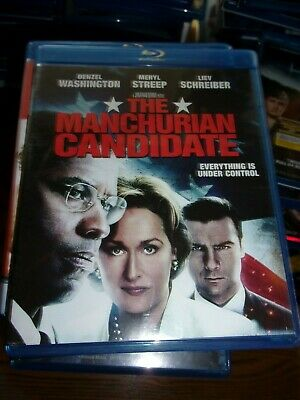 THE MANCHURIAN CANDIDATE-  BLU-RAY  ONLY - WATCHED ONCE