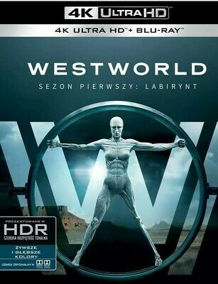 Westworld The Complete First Season - 6 Disc 4K - Blu-ray Season 1