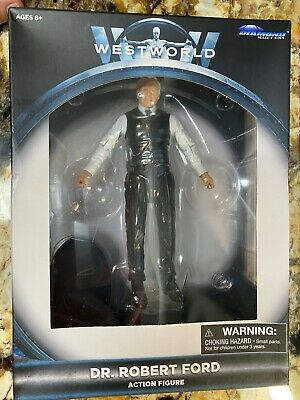 🔥NEW WARNER BROTHERS Westworld Dr Robert Ford Diamond Select Action Figure🔥