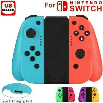 For Nintendo Switch Switch Lite LR Wireless Bluetooth Controllers With Grib