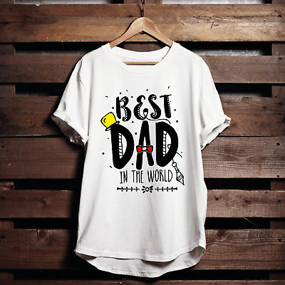 Fathers Day T-Shirt - Best Dad in The Whole World