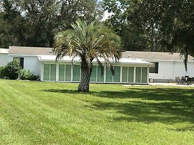 SUNNY FLORIDA 4BR 2 BA 2-5 ACRES HUGE GARAGE - 1 BR 1 BA COTTAGE MUST SEE