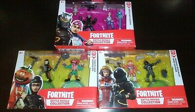 Fortnite Battle Royale Collection 2 Inch Figure Lot Of 3
