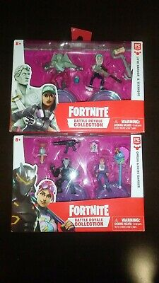 Fortnite Battle Royale Collection 2 Inch Figure Lot Of 2