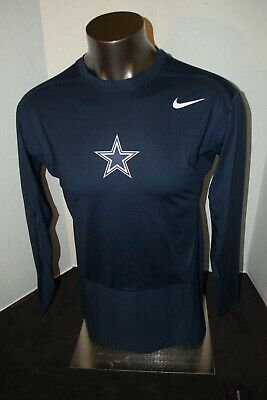Dallas Cowboys Nike Pro Fitted NFL Compression Navy or White  XL-3XL