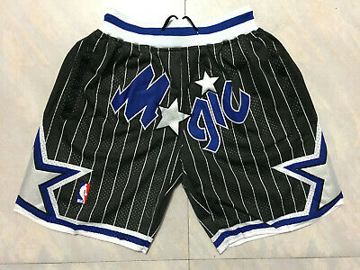 NBA Basketball Shorts Mens Pants black Stitched Orlando Magic