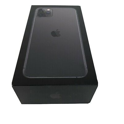 iPhone 11 Pro Max 512GB Space Gray Genuine Apple EMPTY BOX WITH INSERTS ONLY