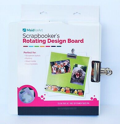 Totally Tiffany Crafty Scrapbooker's Rotating Design Board Layouts FREE SHIP