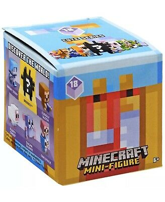 MINECRAFT Cute Mini SERIES 18 Mystery Figurine LOT of 2 Blind Box