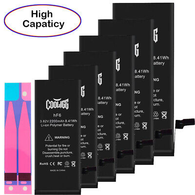Cooligg High Capacity Battery Replacement for iPhone 6 6S Plus 7 7 Plus 8 8 Plus