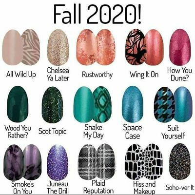 Color Street Nail Polish Strips Fast Combined Shipping New Stock