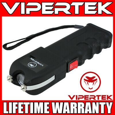 VIPERTEK Stun Gun VTS-989 - 600BV Heavy Duty Rechargeable LED Flashlight