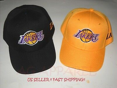 Los Angeles Lakers LA NBA Baseball Hat Cap One Size New Choose Your Style