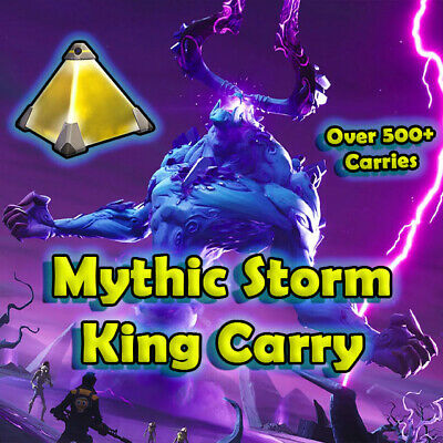 Mythic Storm King Schematic  MSK Carry  Fortnite STW  ON SALE