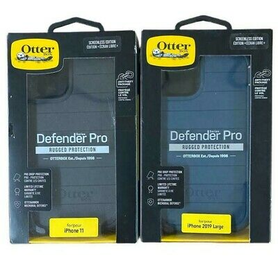 OtterBox Defender Series Pro Case - Holster for iPhone 11 6-1 Black Or Blue