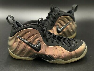 Pre-Owned Nike Foamposite Pro Gym Green Size 13 BlackGym Green