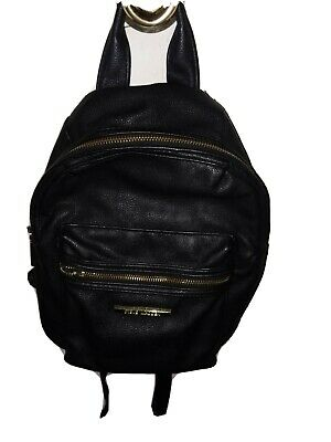 Steve Madden Mini Faux Leather Purse Backpack Pre-Owned