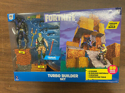 Jazwares Fortnite Jonesy and Raven Turbo Builder Set 2 Figure Pack
