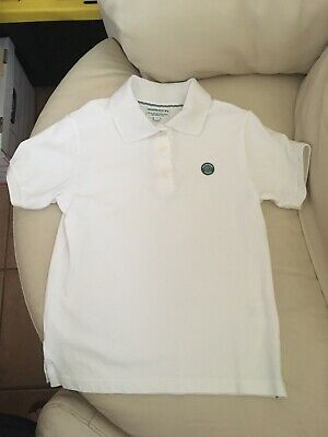 Wimbledon The Championships Youth Polo Shirt - Size 8 - EUC