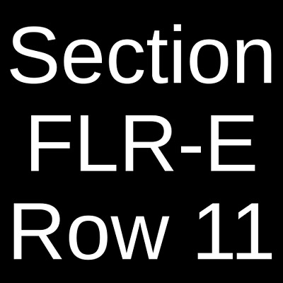 2 Tickets The Weeknd 61221 Rogers Arena Vancouver BC