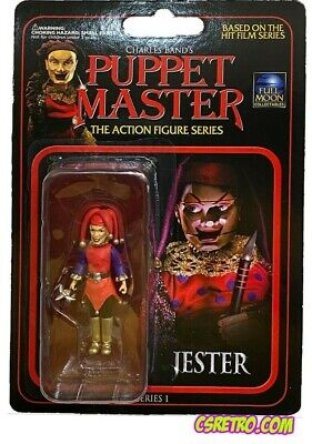 NEW Puppet Master JESTER 3 Movie Halloween Action Figure Toy Horror reaction