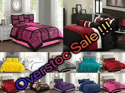 Empire Home 4-Piece Comforter Set ALL COLORS  ALL SIZES - Overstock Sale