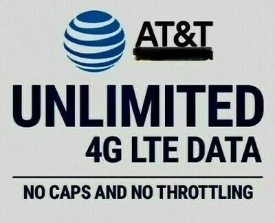 UNIQUE AT-T Unlimited 4G LTE Data Account ATT 20  month YOU OWN IT