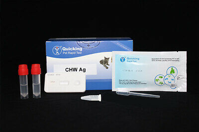 Heartworm Detection Rapid 10 Minute Test Kit Home  Rescue ISO9001 Certified