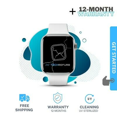 OEM Apple Watch Series 1 38mm - Cracked Glass Screen Repair Service- Mail-In