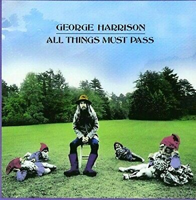 George Harrison All Things Must Pass 2CD Remastered RARE w20-pg booklet