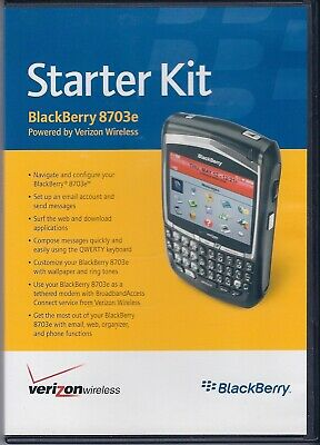 Blackberry 8703e Starter Kit Dvd - Booklet
