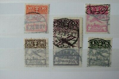 Germany Stamps - Danzig - Small Collection - E16