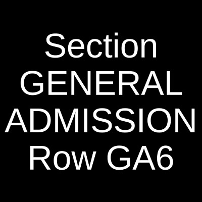 4 Tickets Circa Survive 1922 House Of Blues - Cleveland Cleveland OH