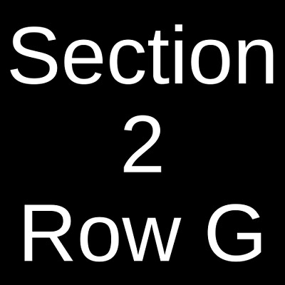 2 Tickets The Black Crowes 7221 Raleigh NC