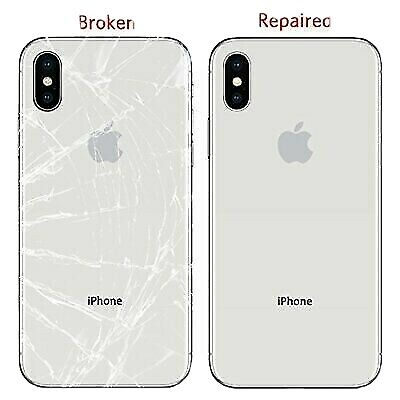 iPhone 8 8- X XS XR XS Max Back Glass Replacement ServiceRepair Mail In Service