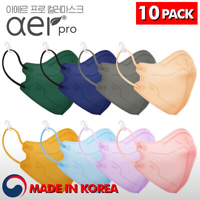 AER PRO Upper Level of KF94 Face Mask Made in Korea Respirators Protective