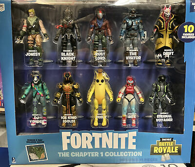 Fortnite Chapter 1 Collection 10pk Battle Royale Action Figures - Ships Same Day