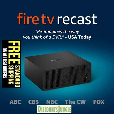 Amazon Fire TV Recast 500GB Over-the-Air DVR 75 hours DVR for cord cutters- NEW