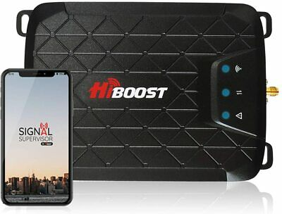 HiBoost 3-Band Cell Phone Signal Booster Up to 1000 sq ft