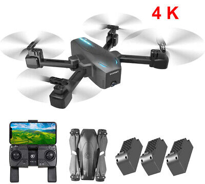 S176 FPV Wifi GPS RC Drone With HD Camera Quadcopter Selfie 4K 1080P Toys Gift